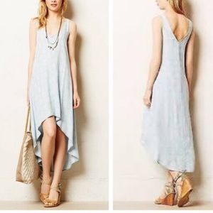Cloth & Stone for Anthro Chambray Ikat Flowy Dress
